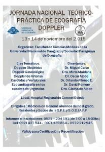 Jornada nacional  Teórico-Práctica de Ecografía Doppler