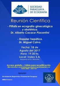 Reunion Científica 18 de agosto