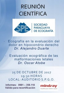 reunion cientifica octubre